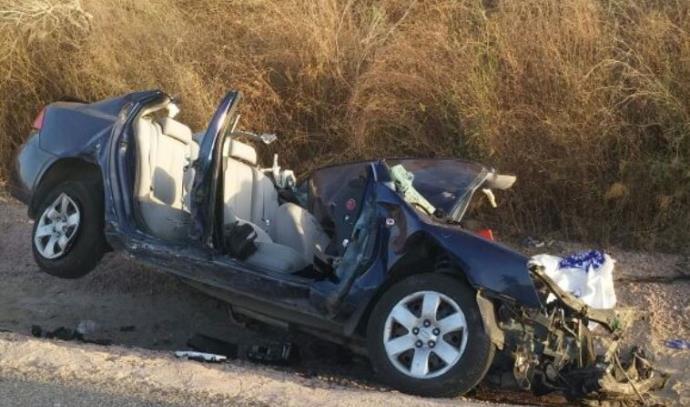תאונה בכביש 781