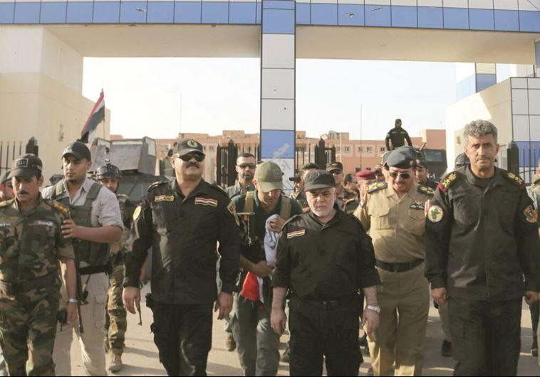 ראש ממשלת עיראק חיידר אל־עבאדי