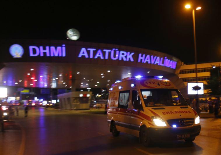 זירת הפיגוע באיסטנבול. צילום: רויטרס