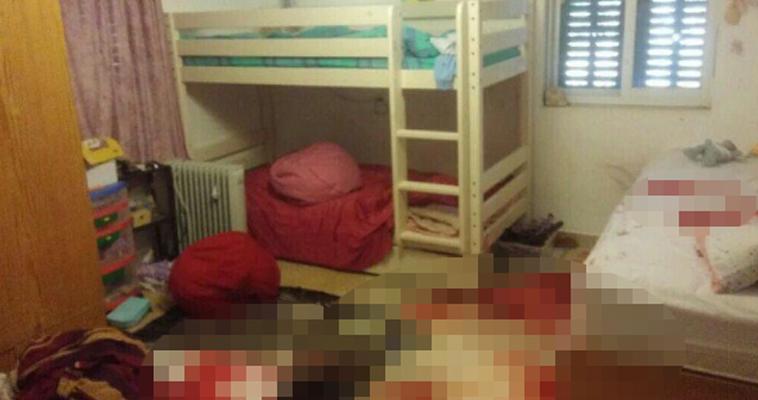 חדרה של הלל יפה אריאל לאחר הפיגוע