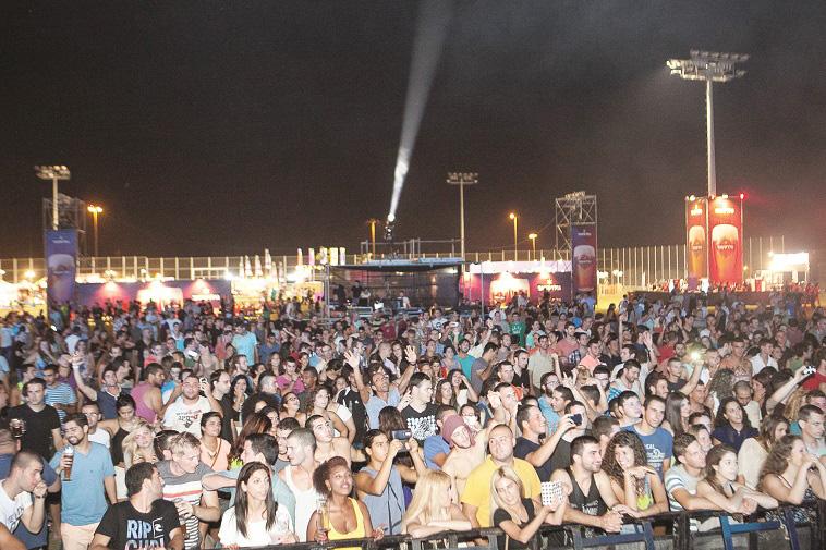 """תמהיל מוזיקלי משכר. פסטיבל הבירה. צילום: יח""""צ"""