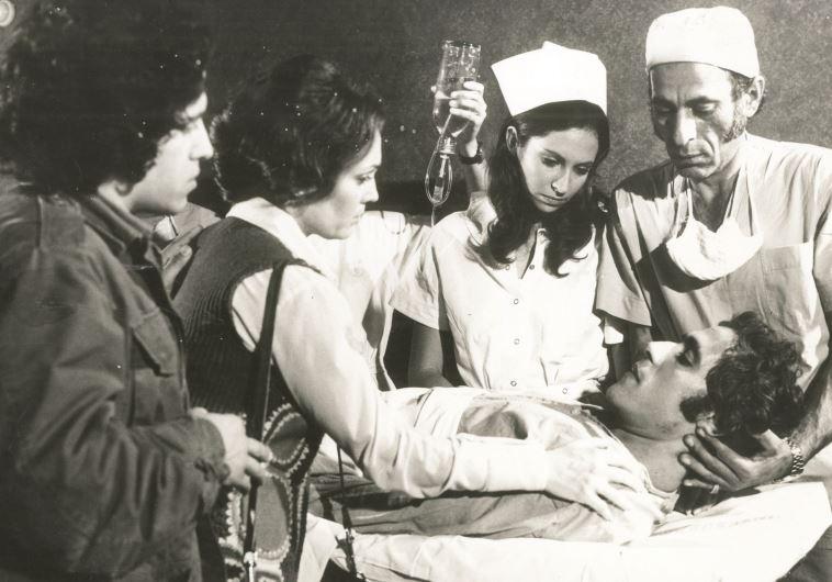 """הסרט הראשון שהתעמת עם הטראומה של מלחמת יום הכיפורים. מתוך """"יום הדין"""", 1974"""