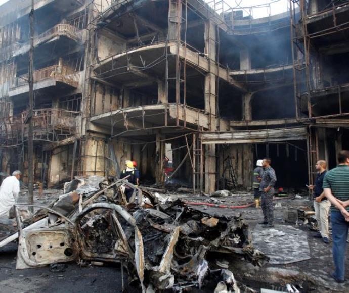 זירת פיגוע התופת בבגדד, 3.7.16