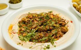 """חומוס מעורב ב""""טבע האוכל"""""""