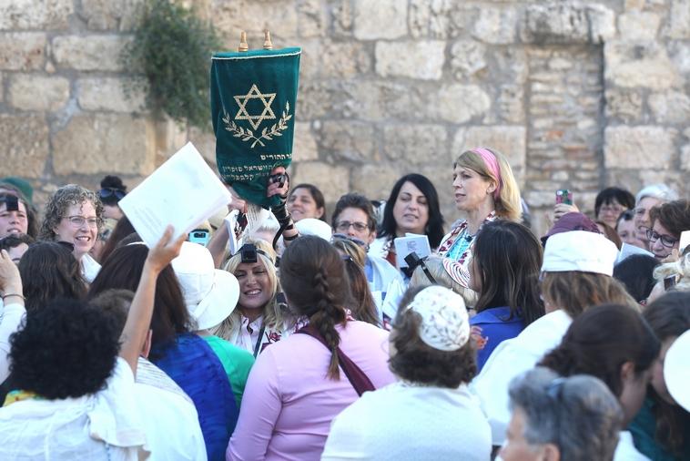 נשות הכותל (צילום: מרק ישראל סלם)
