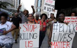 הפגנת תנועת Black Lives Matter