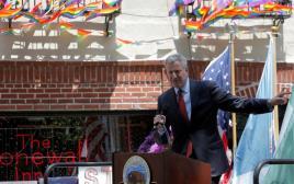 ראש עיריית ניו יורק ביל דה בלאזיו