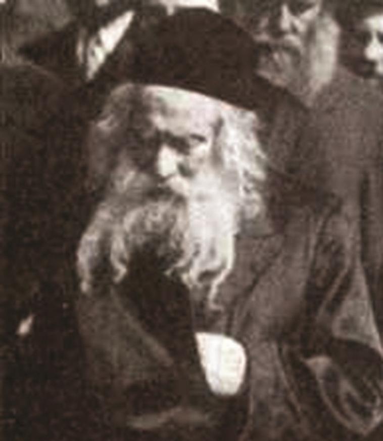 אדמו''ר חסידות גור, רבי אברהם מרדכי אלתר (צילום: ללא)