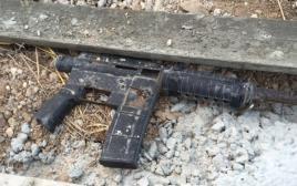 רובה שנתפס במסגרת המעצר