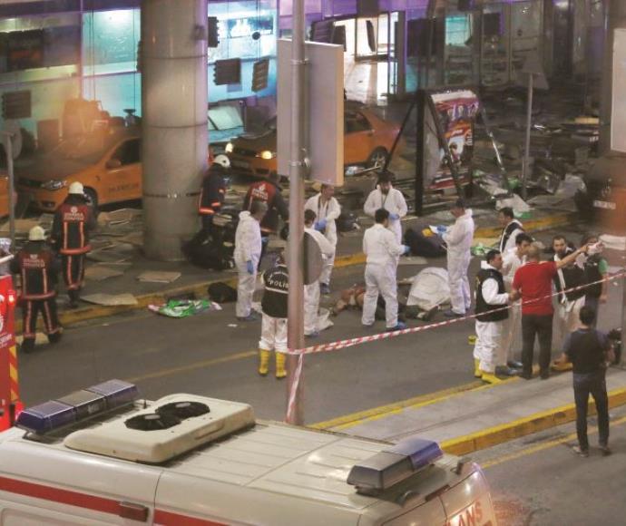 הפיגוע באיסטנבול
