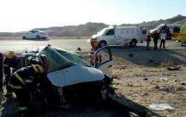 התאונה בכביש 90