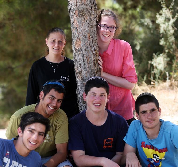 הנוער של עתניאל, צילום: אריאל בשור