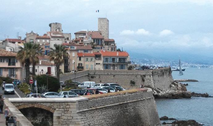 העיר הישנה של אנטיב, צרפת, תיירות