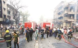 זירת הפיגועים בבגדד, ארכיון