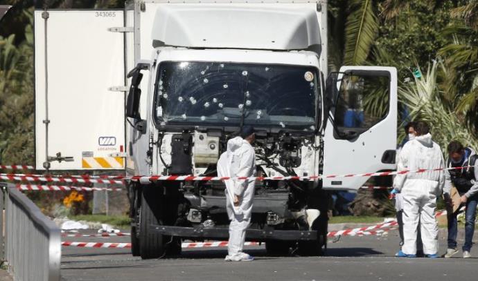 המשאית מהפיגוע בניס