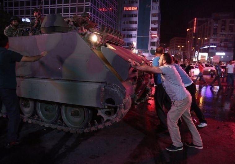 ניסיון ההפיכה בטורקיה