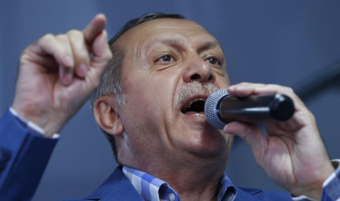 הנשיא ארדואן בנאום הניצחון לאחר ניסיון ההפיכה