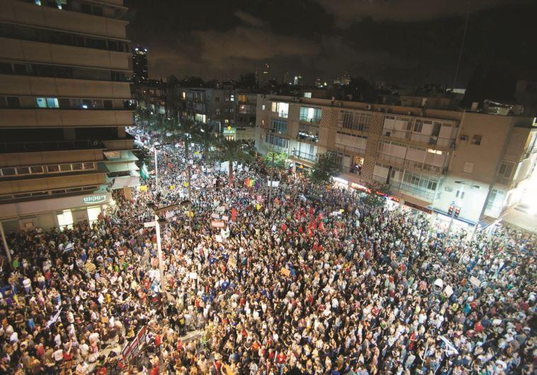 המחאה החברתית. צילום: אסף קליגר