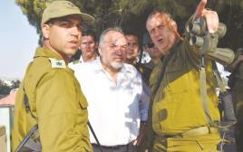 אביגדור ליברמן בסיור בגבול עזה