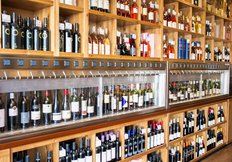 """""""פינוק של יין וגבינות"""", דרך היין. צילום: אורי ורונית"""