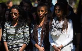 סטודנטיות יוצאות אתיופיה באוניברסיטה העברית