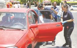 פעוט נשכח ברכב באשדוד