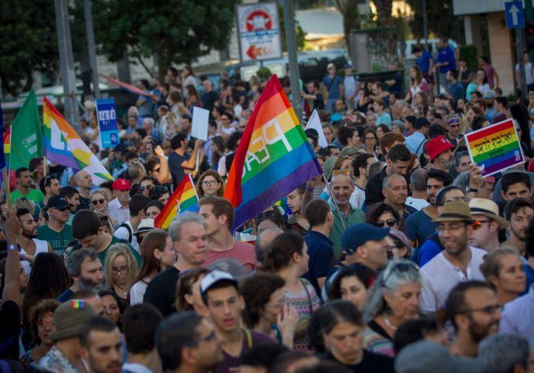 מצעד הגאווה בירושלים, צילום: מרים אלסטר, פלאש 90
