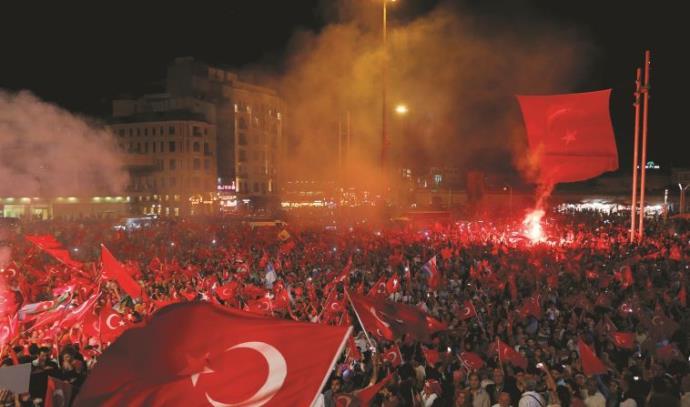 ניסיון הפיכה טורקיה