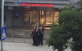 שוטרים באירוע הירי במינכן
