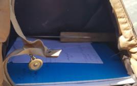 תיק החשודה בניסיון פיגוע ממחסום קלנדיה עם הסכין בתוכו