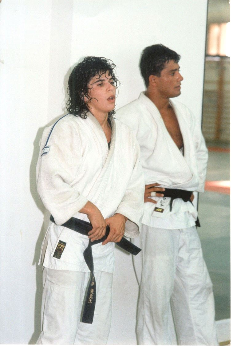 סמדג'ה עם יעל ארד. צילום: עדי אבישי