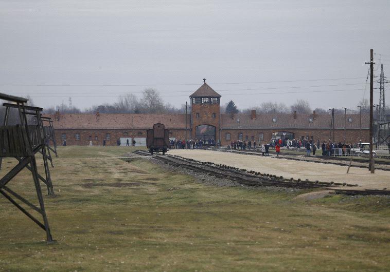 מחנה ההשמדה אושוויץ. צילום: רויטרס