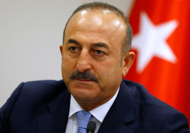 שר החוץ הטורקי, מבלוט צ'בושולו (צילום: רויטרס)