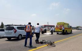 תאונת דרכים בכביש 4