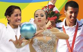 אולימפיאדת ריו 2016, שחר צוברי, נטע ריבקין, ירדן ג'רבי