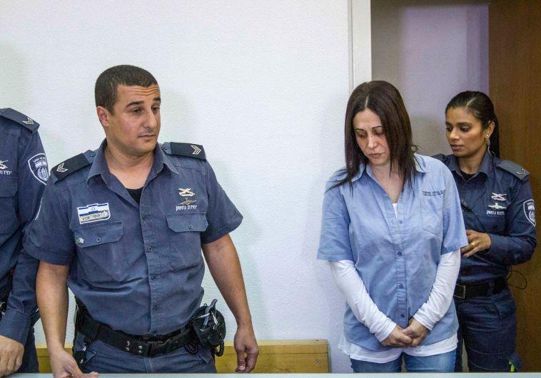 אתי אלון יצאה ממאסר. צילום: עידו ארז, פלאש 90