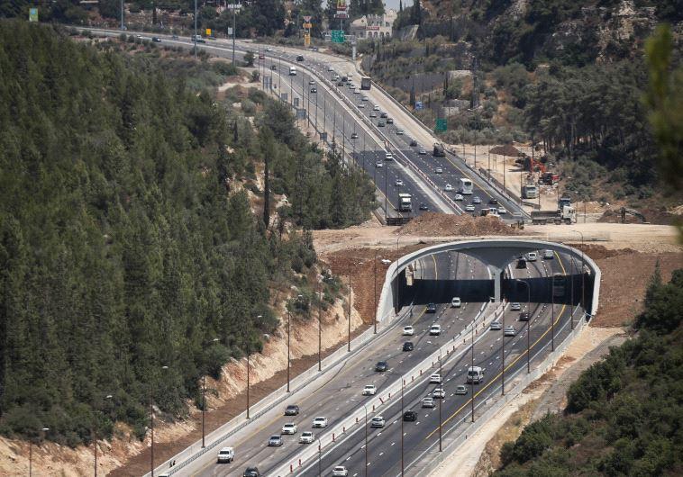 הכביש החדש לירושלים. צילום: יוסי זמיר, פלאש 90