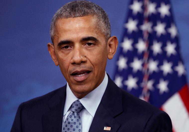 """נשיא ארה""""ב לשעבר ברק אובמה. המדיניות שלו ביחס לנושא הסורי היא החטא הקדמון. צילום: רויטרס"""