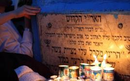 """קברו של האר""""י הקדוש"""