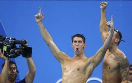 מייקל פלפס באולימפיאדת ריו 2016