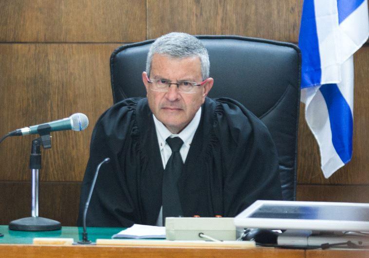 השופט דוד רוזן, צילום: יותם רונן, פלאש 90