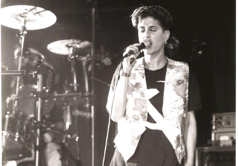 אמרה שהיא רוצה להיות ג'ניס ג'ופלין הישראלית. סי היימן בשנות ה-80. צילום: גרי אברמוביץ
