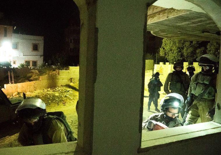 """הריסת בית המחבל שרצח את הלל אריאל ז""""ל. צילום: דובר צה""""ל"""