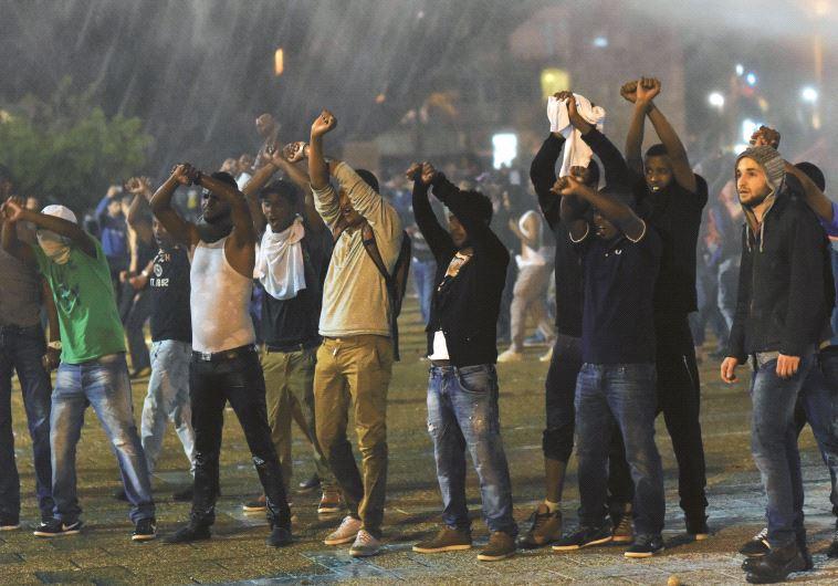הפגנת יוצאי אתיופיה בתל אביב, 2015