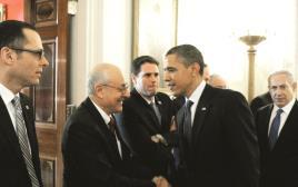מולכו עם הנשיא אובמה