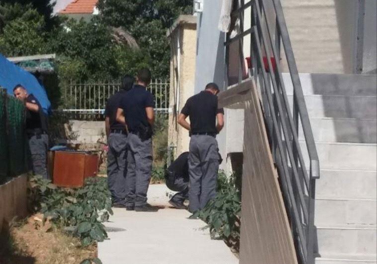 פגיעת הרקטה בשדרות, צילום: משטרת ישראל