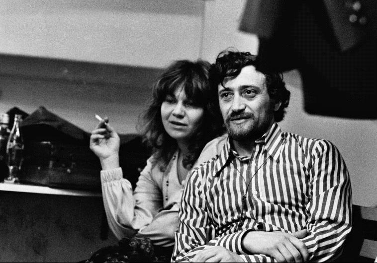 אלונה טוראל עם רומן קונסמן. צילום: אברהם קביליו