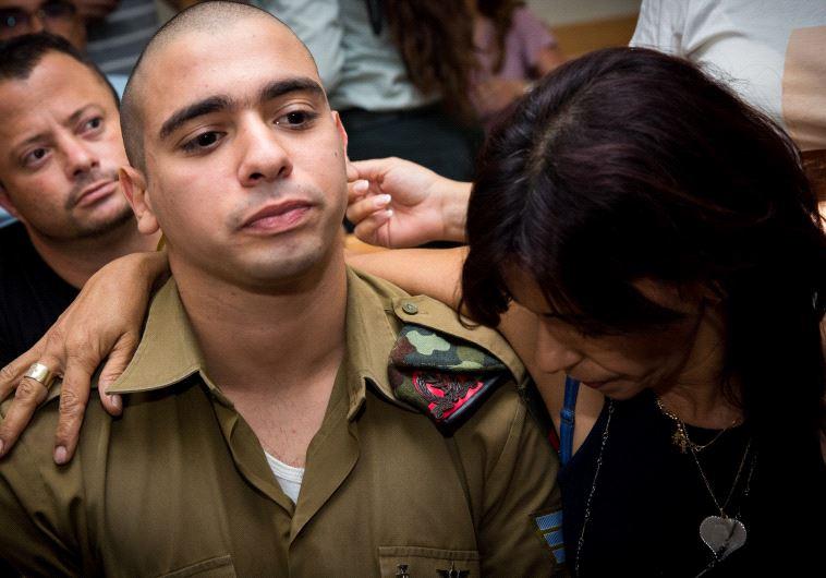החייל היורה מחברון אלאור אזריה. צילום: פלאש 90