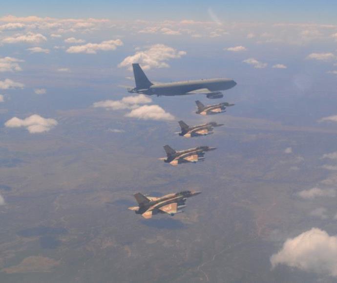"""תרגיל חיל האוויר בארה""""ב"""