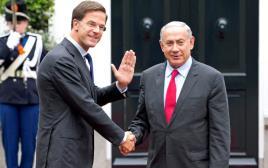 ראש הממשלת הולנד מארק רוטה בנימין נתניהו ראש הממשלה
